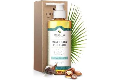 Tree to Tub Soapberry shampoo