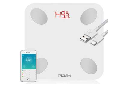 rechargeable smart scale