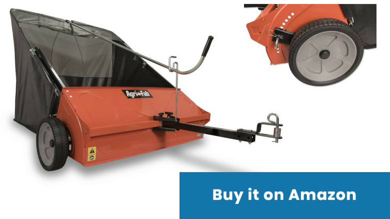 agri fab tow lawn sweeper