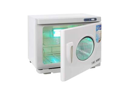 White towel heater with UV light