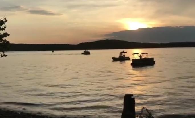 branson boat video