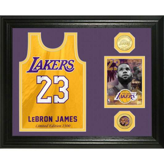 lebron james lakers collectibles