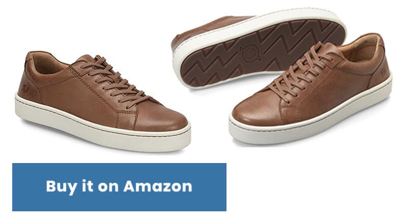 born mens jib leather sneakers