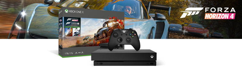 Forza Horizon 4 Xbox One X Bundle