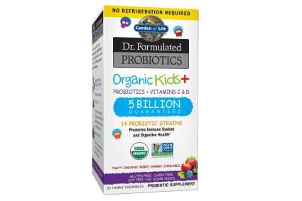 garden of life probiotics for kids