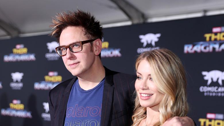 James Gunn girlfriend Jennifer Holland