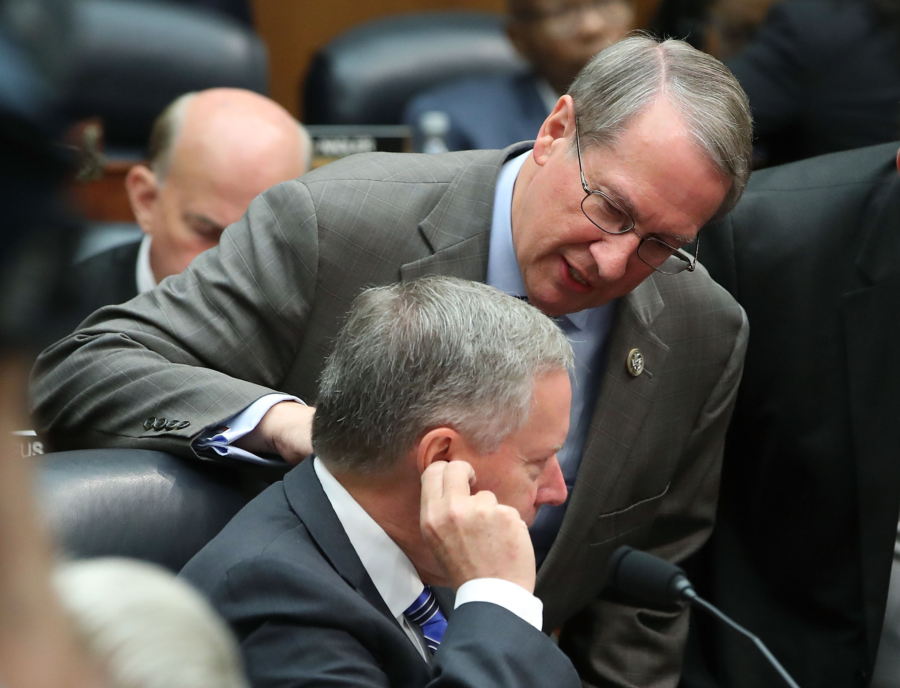 Goodlatte during an earlier hearing into the 2016 election