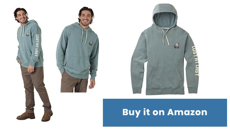 burton estevan pullover hoodie