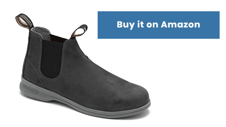 blundstone eva rustic black chelsea boots
