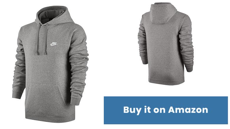nike sportswear mens pullover club hoodie