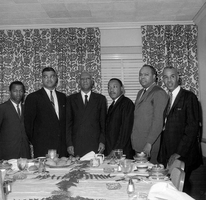 John Lewis and Martin Luther King