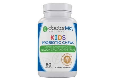 Kids Probiotics Chewable by Doctor MK's