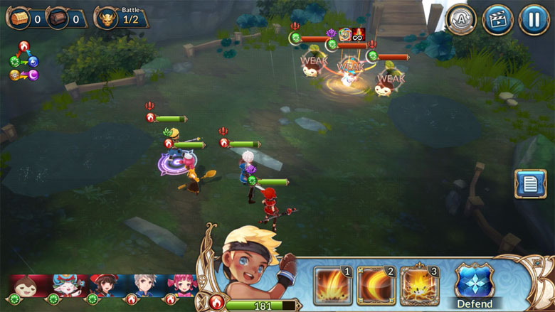 Knights Chronicle Game