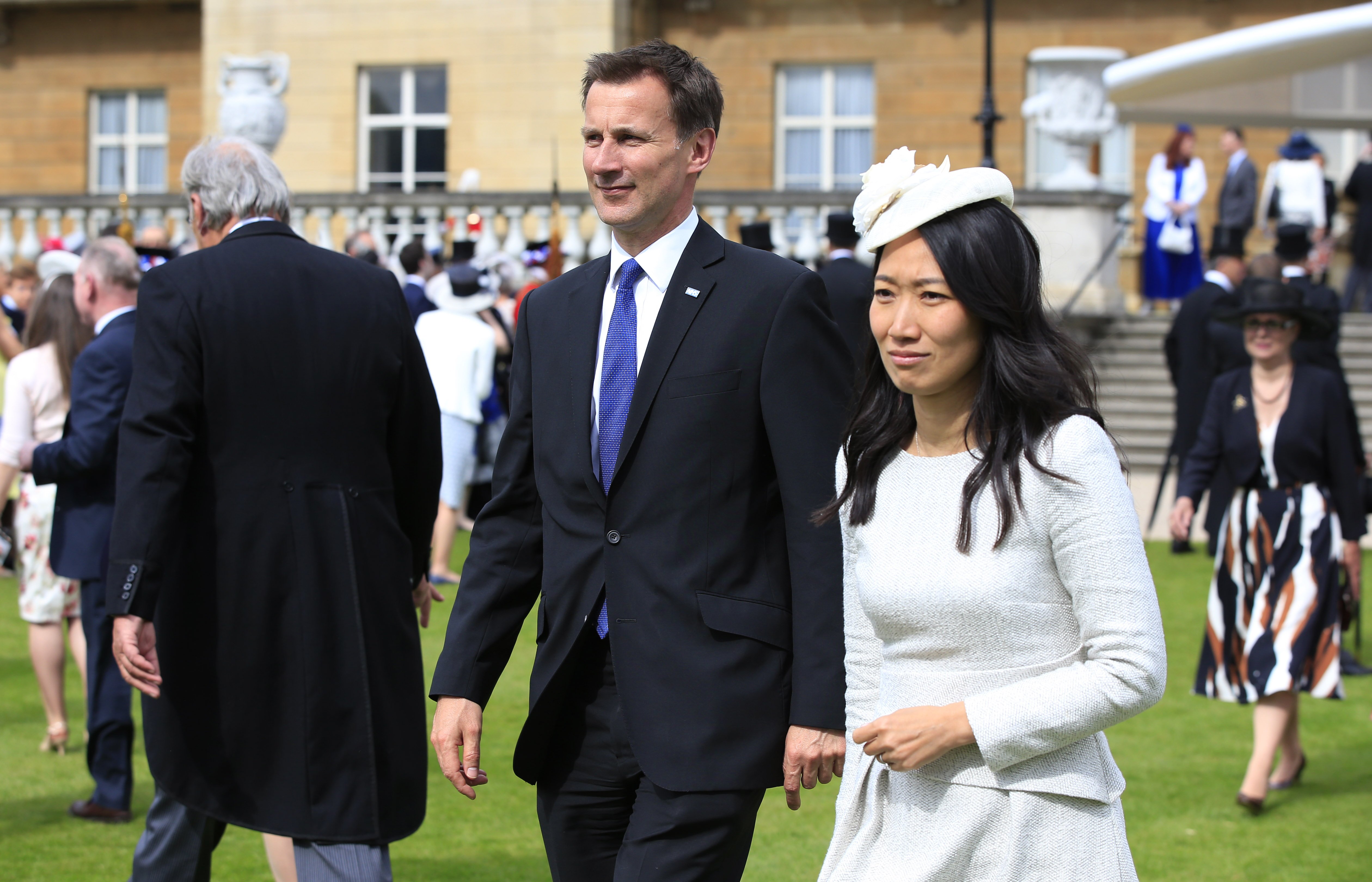 Lucia and Jeremy Hunt