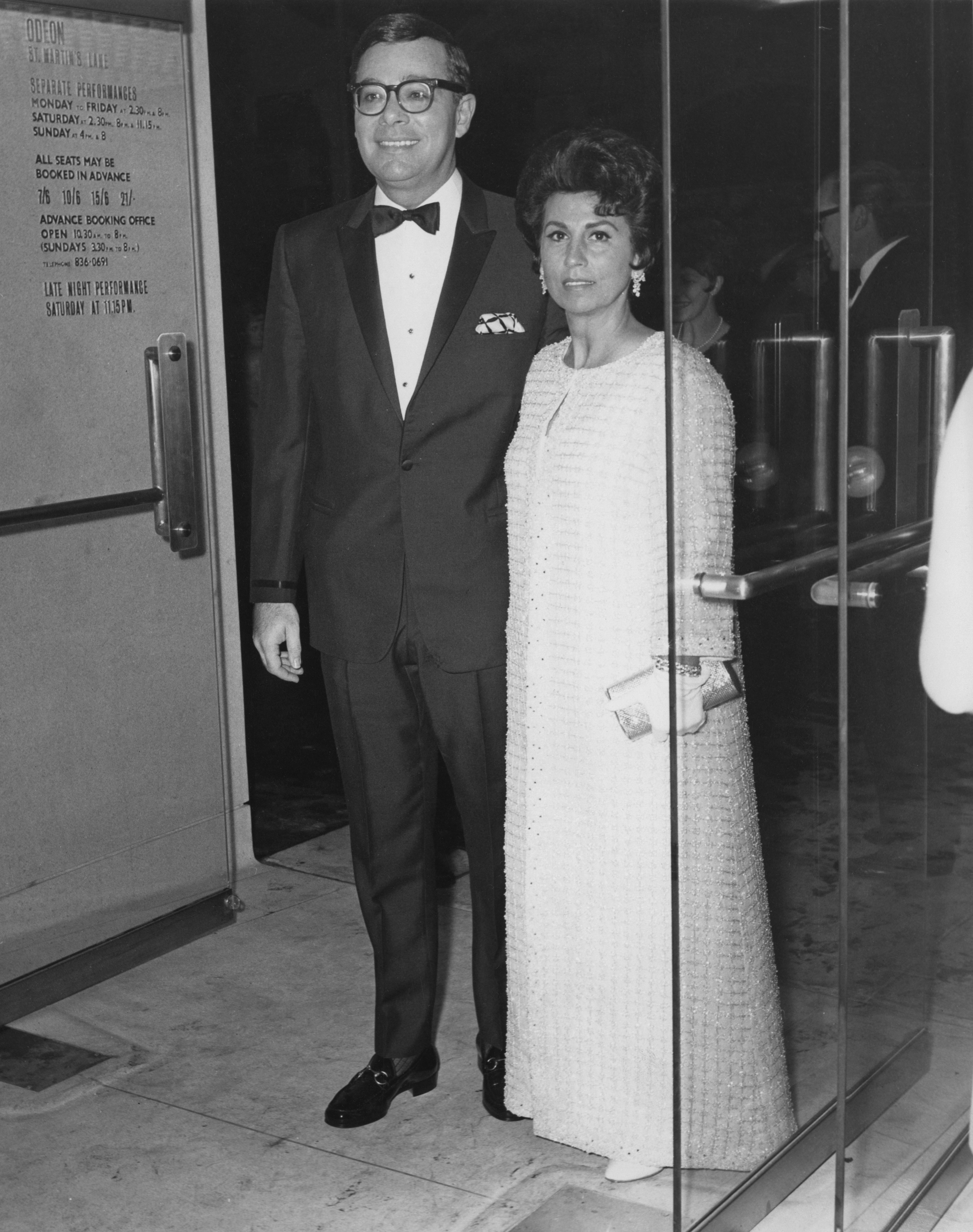 Nancy Sinatra with Ross Hunter