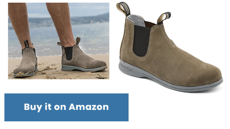 blundstone suede summer chelsea boots