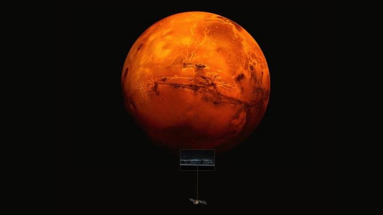 Mars Underground Lake