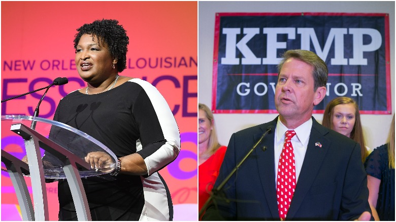 brian kemp stacey abrams