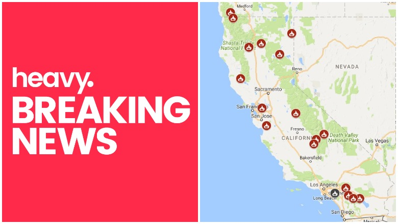 California Fire Map Fires Near Me Right Now July 28 29 Heavy Com