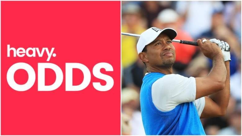 tiger open odds, tiger open chances, tiger to win the open