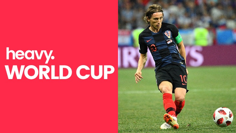 Russia vs Croatia, World Cup 2018