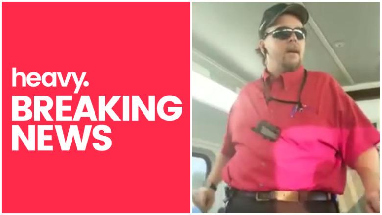 UTA train worker video
