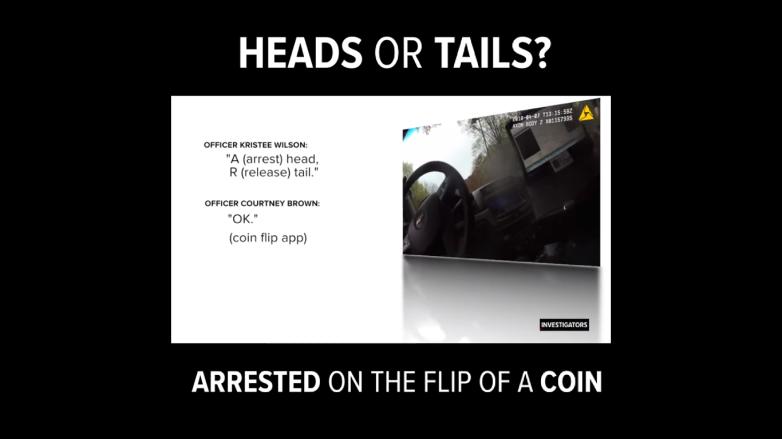 cops coin toss