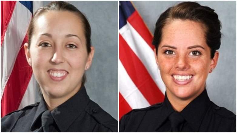 RPD Officers Kristee Wilson, Courtney Brown