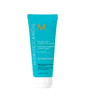 Travel hair mask