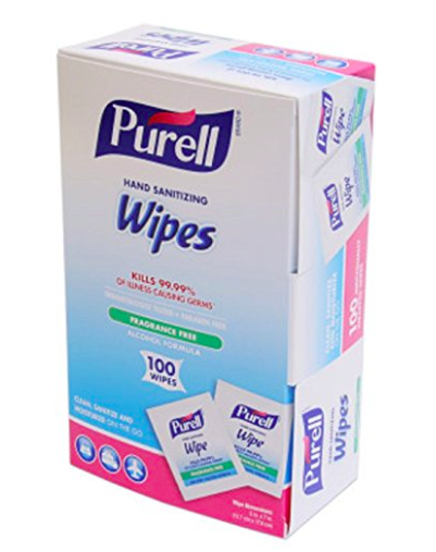 travel hand wipes