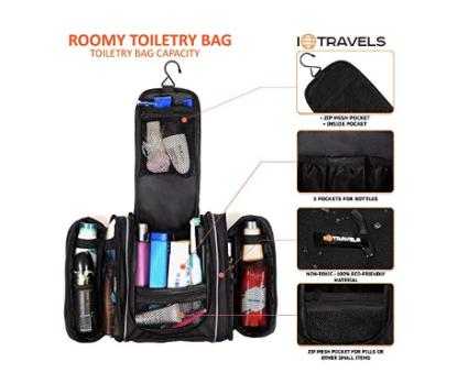 large mens toiletry bag