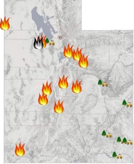 Utah Fire Map Near Me