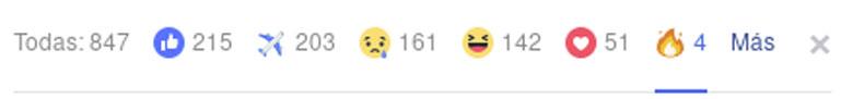 Facebook fire react