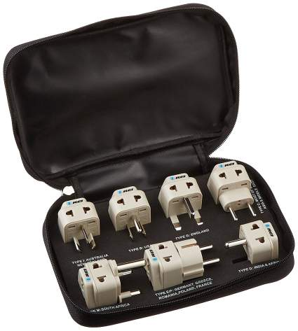 universal adapter plug set