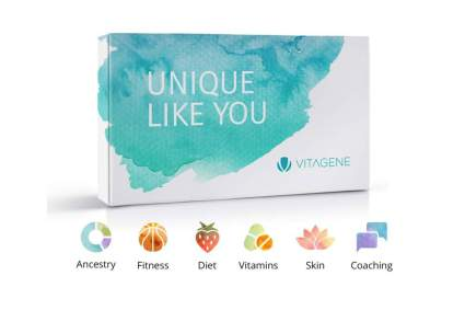 Vitagene DNA Test w Optional Health Beauty Coaching