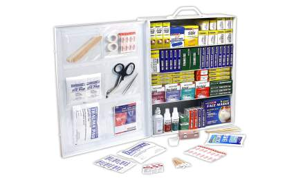 wall mountable first aid kit for workplace