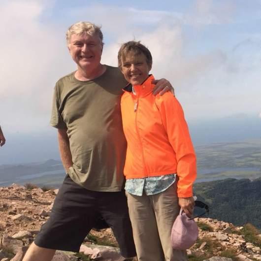Mariann and Paul Budde