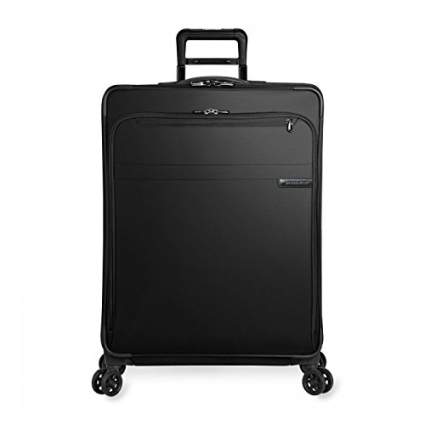 large expandable suitcase