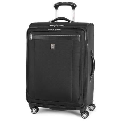 expandable spinner suitcase