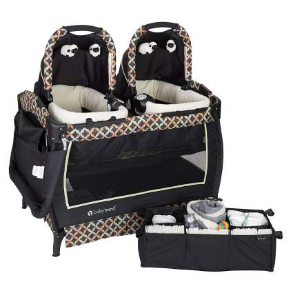 baby trend pack and play bassinet