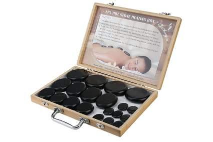 Hot stone massage briefcase