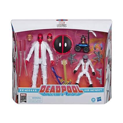 Deadpool and Hit-Monkey Collectible Action Figure 2 Pack