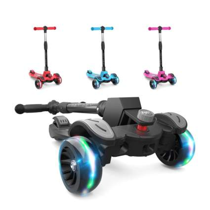 Kids Kick Scooter with Adjustable Height