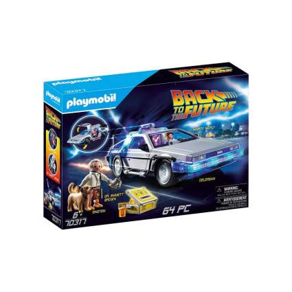 Playmobil Back to The Future Delorean