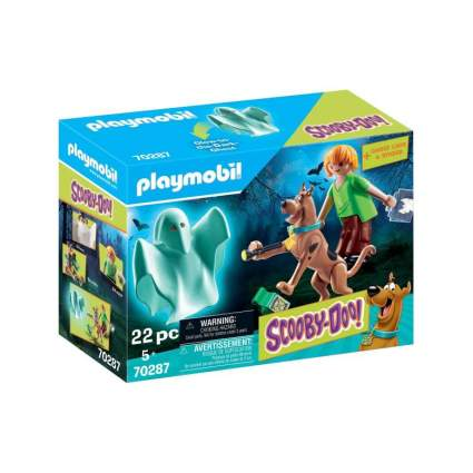 Playmobil Scooby, Shaggy, and Ghost