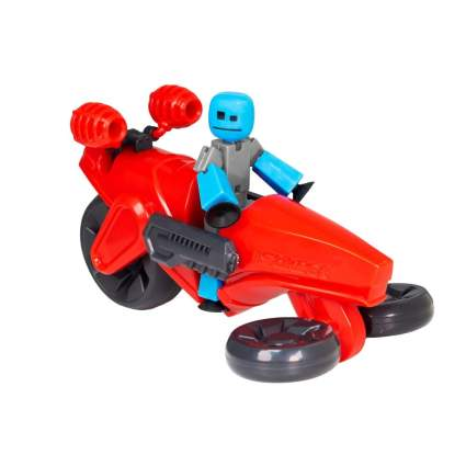 StikBot Zing MegaBot Turbo Cycle - Stop Motion Action Figure Set