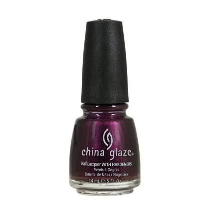 Purple nail polish by China Glaze