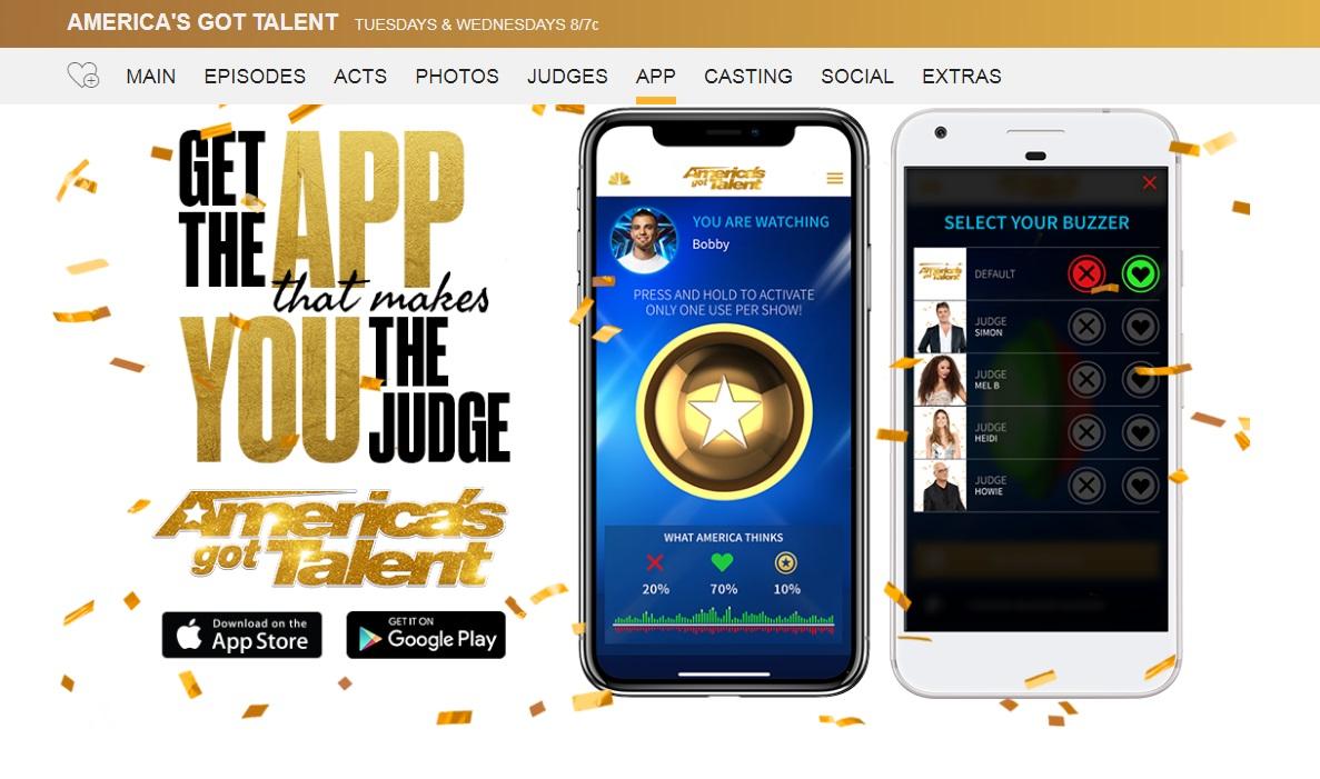 AGT 2018 Voting App, America's Got Talent 2018 Vote