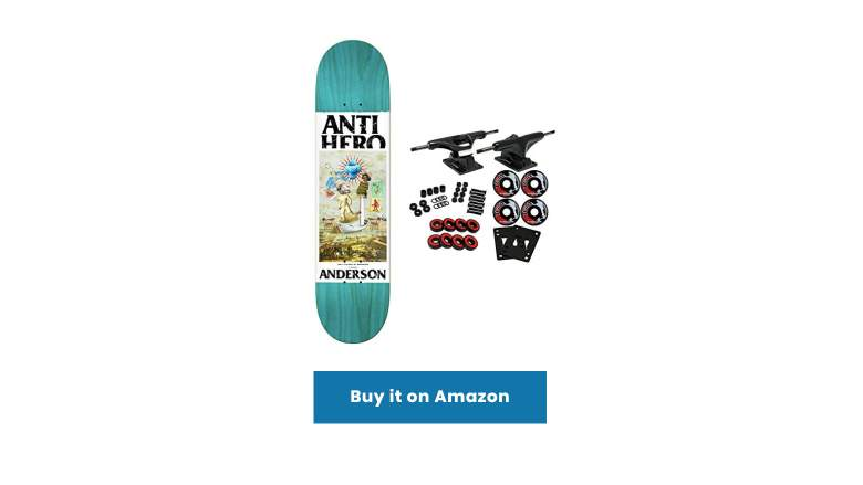 anti hero skateboards