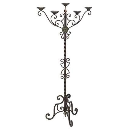 antique look floor chandelier